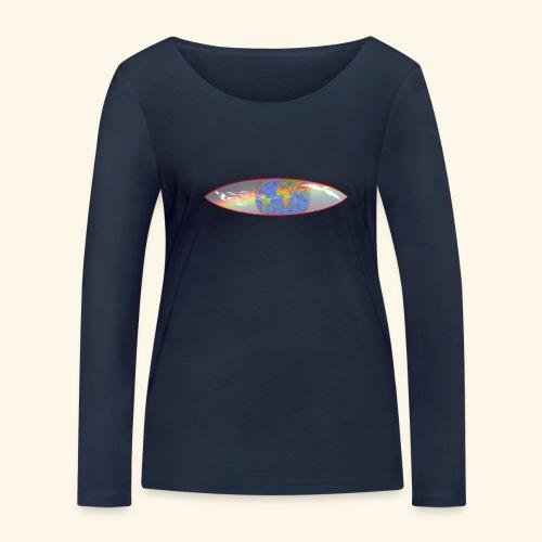 Heal the World - Frauen Bio-Langarmshirt von Stanley & Stella