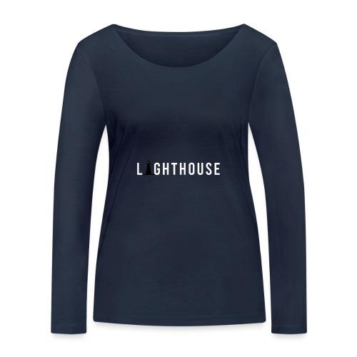 Lighthouse Logo - Frauen Bio-Langarmshirt von Stanley & Stella
