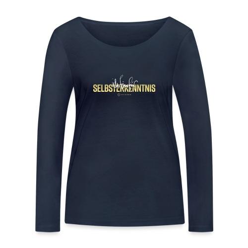 Selbsterkenntnis - Frauen Bio-Langarmshirt von Stanley & Stella