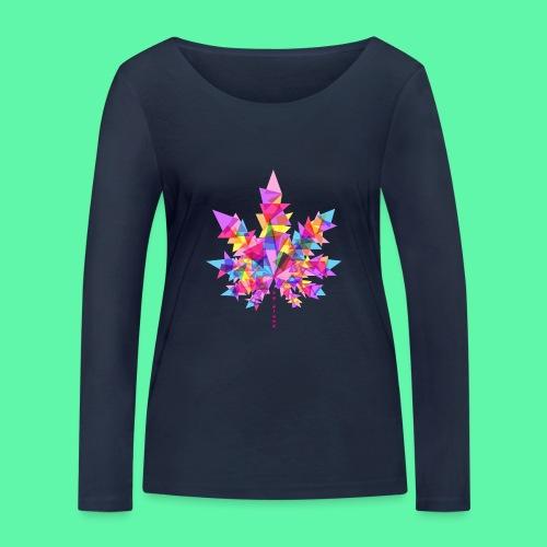 Mary Jane pink - Økologisk Stanley & Stella langærmet T-shirt til damer