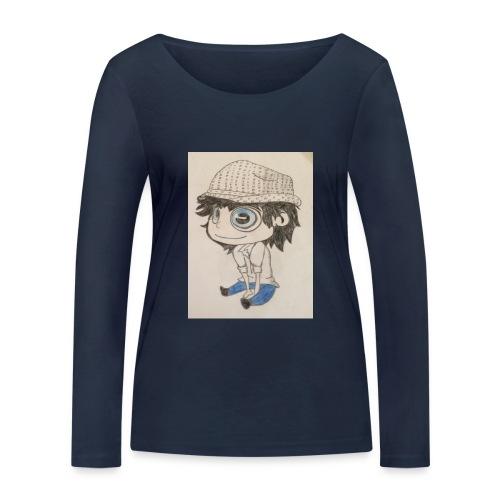 la vida es bella - Camiseta de manga larga ecológica mujer de Stanley & Stella