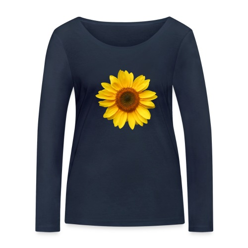 Du bist der Sonnenschein! - Frauen Bio-Langarmshirt von Stanley & Stella