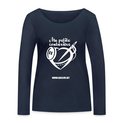 Ma petite couturière (version light) - T-shirt manches longues bio Stanley & Stella Femme