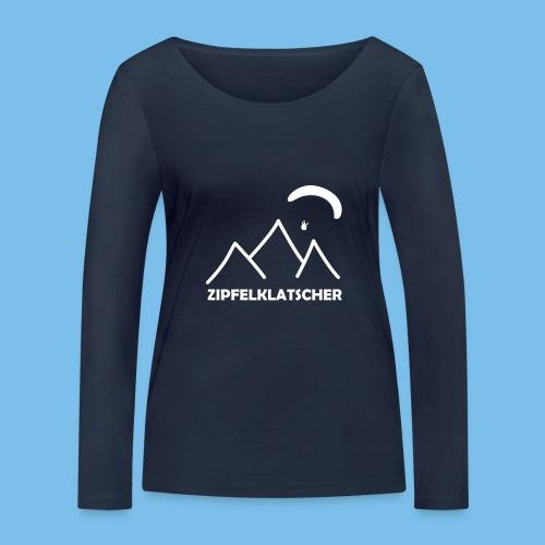 gleitschirmflieger paragliding geschenk T-shirt - Frauen Bio-Langarmshirt von Stanley & Stella