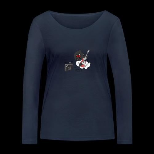 logo guitar - T-shirt manches longues bio Stanley & Stella Femme