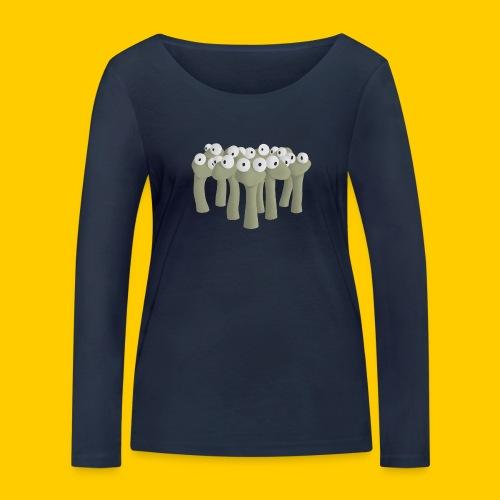 Worm gathering - Ekologisk långärmad T-shirt dam från Stanley & Stella