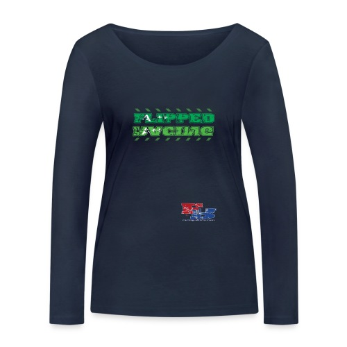 Flipped Racing A-Plus - Women's Organic Longsleeve Shirt by Stanley & Stella