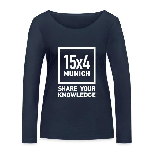 Share your knowledge - Frauen Bio-Langarmshirt von Stanley & Stella
