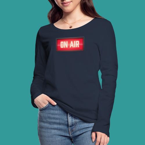 On Air - Women's Organic Longsleeve Shirt by Stanley & Stella