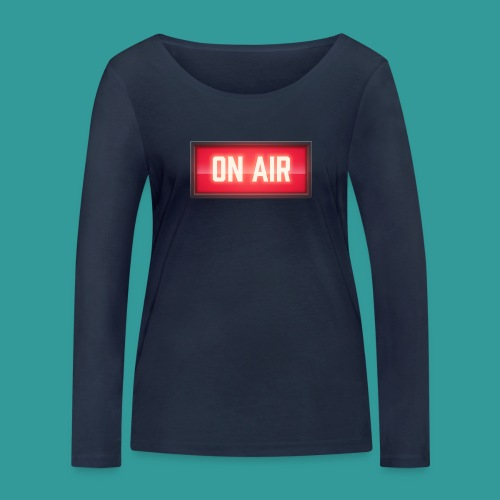 On Air - Women's Organic Longsleeve Shirt by Stanley & Stella