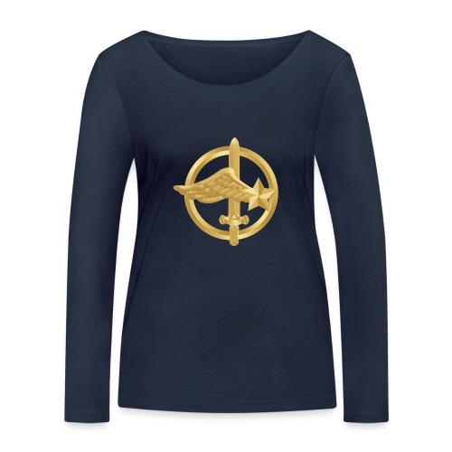 Tasse Fusiliers Commandos de l'Air - T-shirt manches longues bio Stanley & Stella Femme
