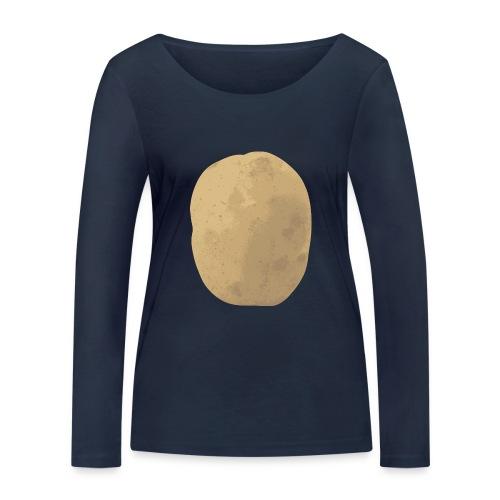 Aardappel - Vrouwen bio shirt met lange mouwen van Stanley & Stella