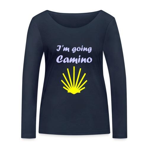 Going Camino - Økologisk Stanley & Stella langærmet T-shirt til damer