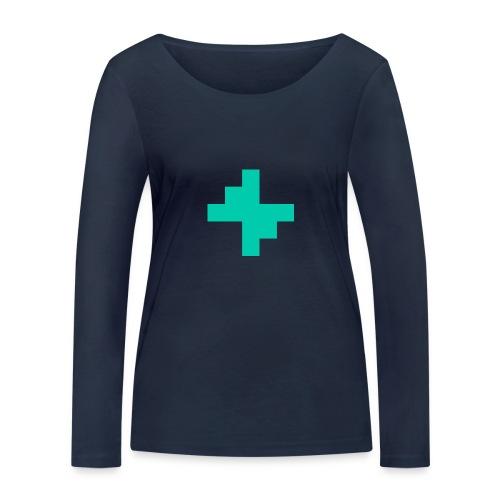 Bluspark Bolt - Women's Organic Longsleeve Shirt by Stanley & Stella