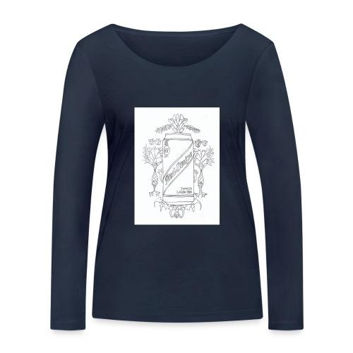 Red Stripe - Women's Organic Longsleeve Shirt by Stanley & Stella