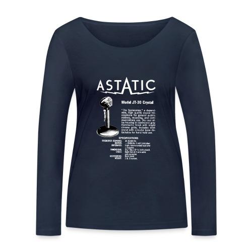 Astatic JT-30 Specs - Women's Organic Longsleeve Shirt by Stanley & Stella