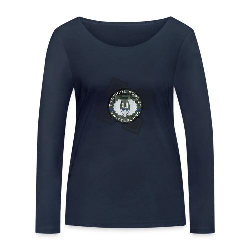 TFS Badge Camo - T-shirt manches longues bio Stanley & Stella Femme