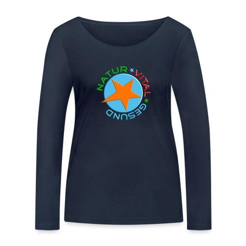 Natur-vital-gesund - Frauen Bio-Langarmshirt von Stanley & Stella