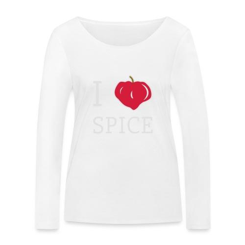 i_love_spice-eps - Stanley & Stellan naisten pitkähihainen luomupaita