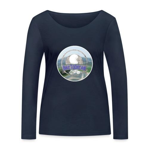 BikeToDream - T-shirt manches longues bio Stanley & Stella Femme