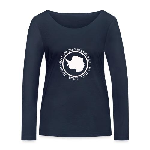 Great God! - Women's Organic Longsleeve Shirt by Stanley & Stella