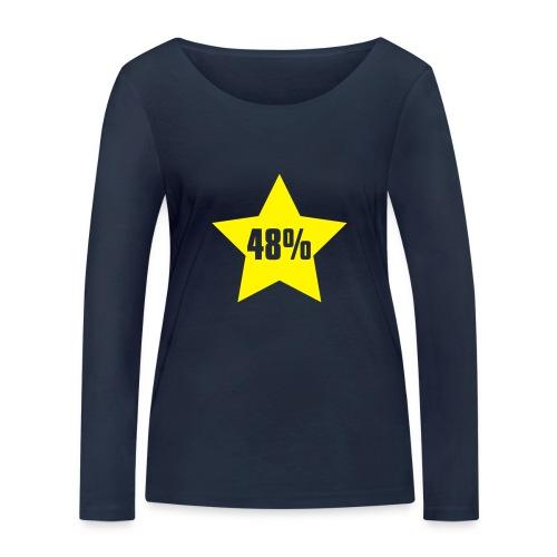 48% in Star - Women's Organic Longsleeve Shirt by Stanley & Stella