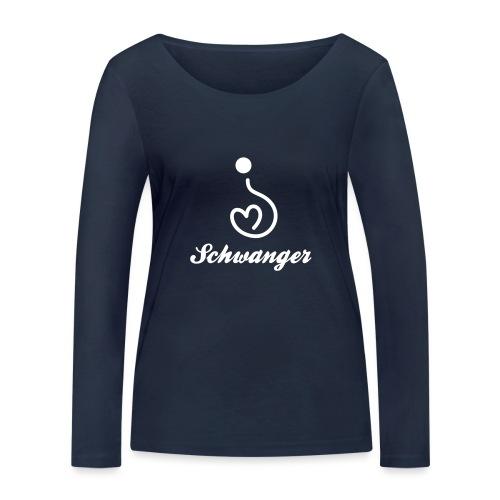Ich bin Schwanger - Frauen Bio-Langarmshirt von Stanley & Stella