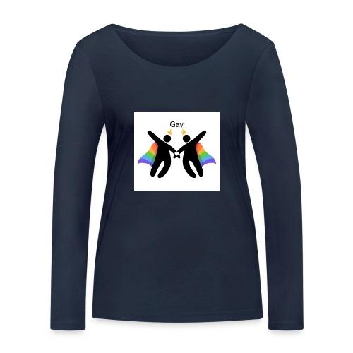 LGBT Gay - Økologisk Stanley & Stella langærmet T-shirt til damer
