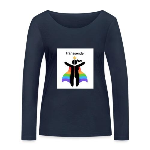 LGBT Transgender - Økologisk Stanley & Stella langærmet T-shirt til damer