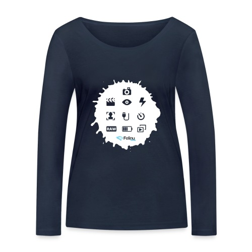 Logotipos Fotografía - Camiseta de manga larga ecológica mujer de Stanley & Stella