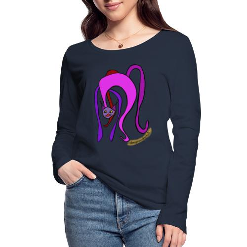 Miaou !!! - Frauen Bio-Langarmshirt von Stanley & Stella