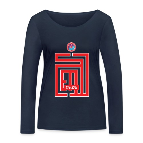 Red Rise II - T-shirt manches longues bio Stanley & Stella Femme