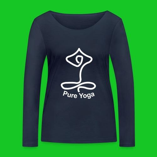 Pure Yoga - Vrouwen bio shirt met lange mouwen van Stanley & Stella