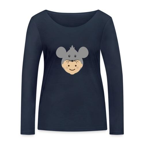 Mr Mousey   Ibbleobble - Women's Organic Longsleeve Shirt by Stanley & Stella