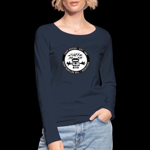 Emblem BW - Vrouwen bio shirt met lange mouwen van Stanley & Stella