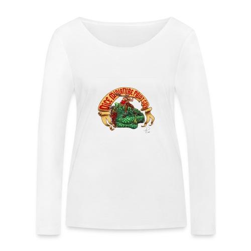 DiceMiniaturePaintGuy - Women's Organic Longsleeve Shirt by Stanley & Stella
