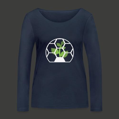 Biosphere Front - Women's Organic Longsleeve Shirt by Stanley & Stella
