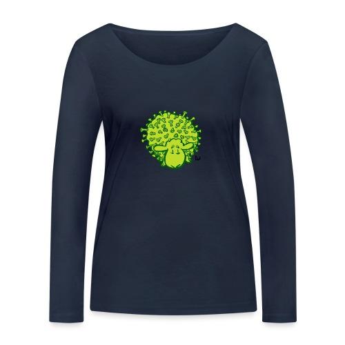 Virus oveja - Camiseta de manga larga ecológica mujer de Stanley & Stella