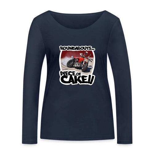 Ducati Monster Skidding - Camiseta de manga larga ecológica mujer de Stanley & Stella