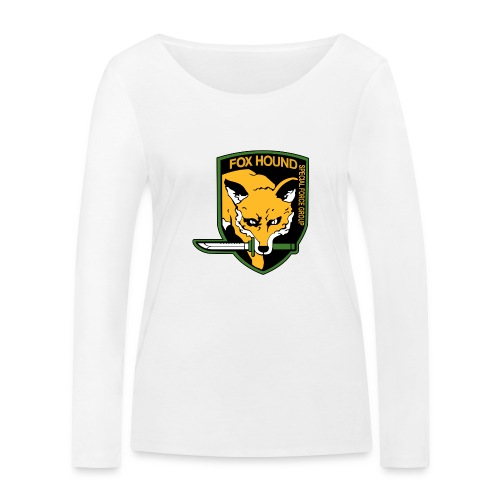 Fox Hound Special Forces - Stanley & Stellan naisten pitkähihainen luomupaita