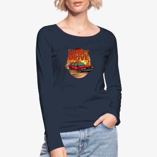 Sunset Drive - T-shirt manches longues bio Stanley & Stella Femme