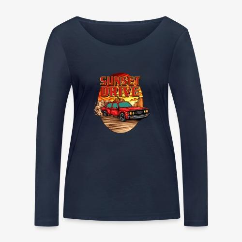 Sunset Drive - Frauen Bio-Langarmshirt von Stanley & Stella