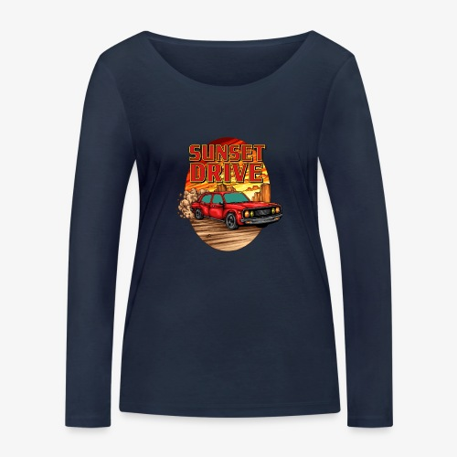 Sunset Drive - T-shirt manches longues bio Stanley & Stella Femme