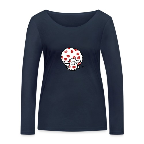 Kiss Ewe - Women's Organic Longsleeve Shirt by Stanley & Stella