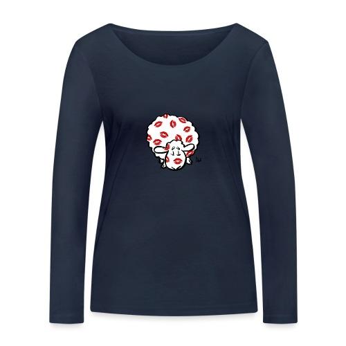 Pocałuj Ewe - Ekologiczna koszulka damska z długim rękawem Stanley & Stella