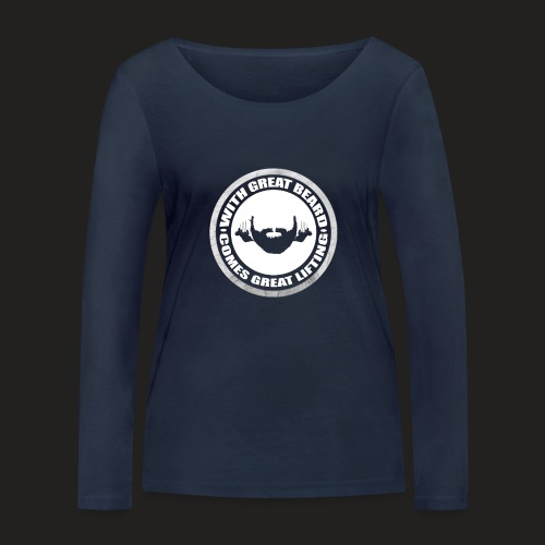 BEARD RESP - Women's Organic Longsleeve Shirt by Stanley & Stella
