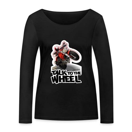 Ducati Monster Wheelie B - Camiseta de manga larga ecológica mujer de Stanley & Stella