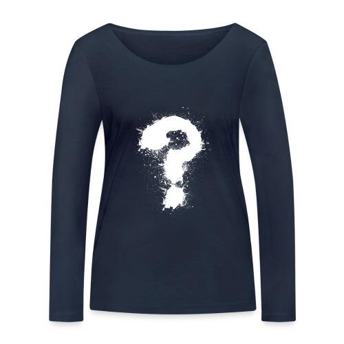 Fragezeichen - Frauen Bio-Langarmshirt von Stanley & Stella