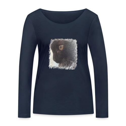 chat - T-shirt manches longues bio Stanley & Stella Femme