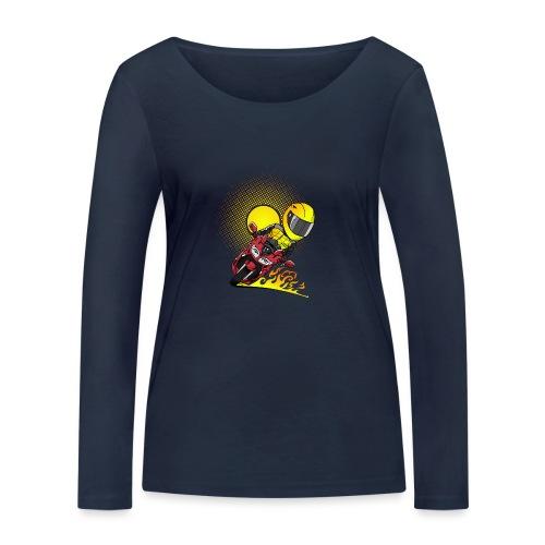 0791 fjr ROOD sun - Vrouwen bio shirt met lange mouwen van Stanley & Stella